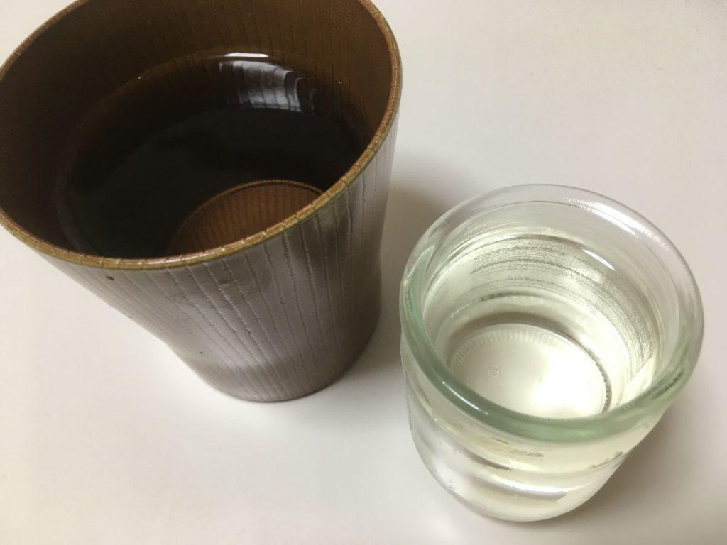 月桂冠ミニカップ純米_色味
