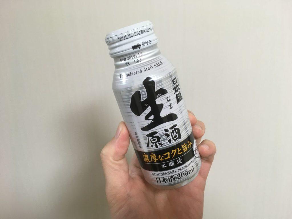 日本盛生原酒本醸造ボトル缶_top