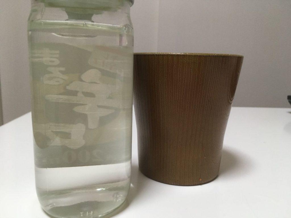 白鶴サケカップ まる辛口_色味