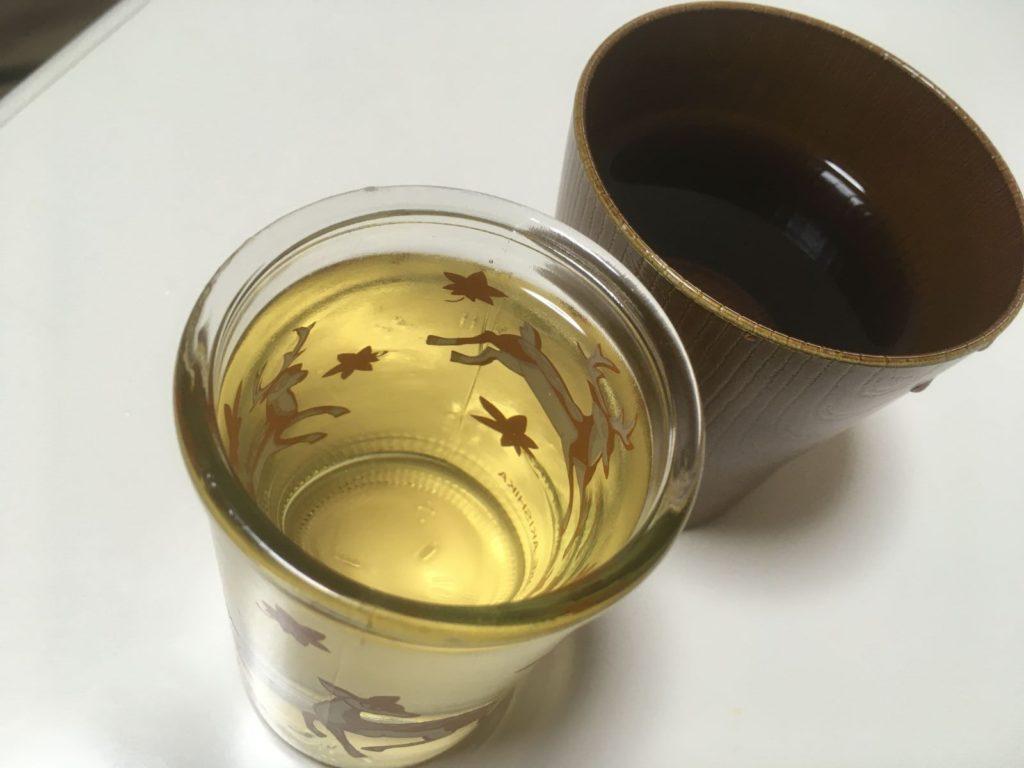 秋鹿バンビカップ純米_色味